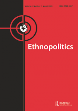 Ethnopolitics Virtual Special Issues on Current Events