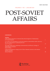 The logic of competitive influence-seeking: Russia, Ukraine, and the conflict in Donbas